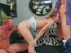 Teen ass slapped in the lead property two cocks medial
