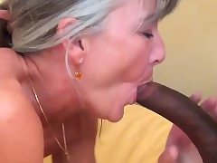 Grey haired granny luvs bbc