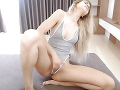 Blonde Orgasm Web cam