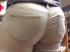 Shorty VPL Thick Rump Jeans Montage