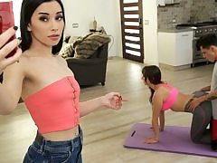 Mom And Step Sonnie Do Yoga Together - S12:E4